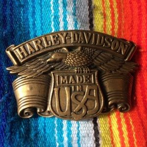 Vintage Harley Davidson Made in the USA Buckle